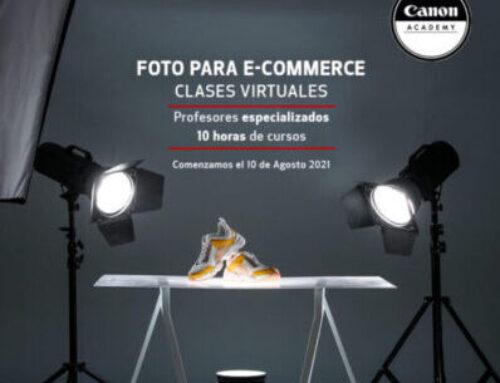 ¿Quieres mejorar tus fotos de producto o retrato? Hazlo con los workshops de Canon