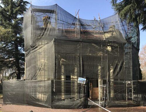Restauración de las CAPILLAS DE RESPONSO DE LOS CEMENTERIOS ALEMÁN Y BRITÁNICO. Monumento Histórico Nacional