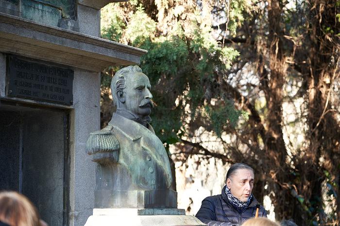 El Mausoleo del coronel de Marina Juan Bautista Thorne en el Cementerio Británico