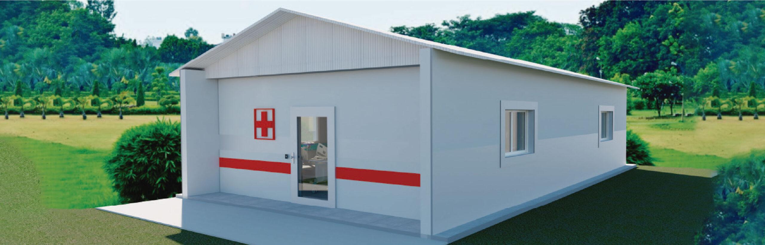 Astori diseñó un Módulo Hospitalario de Emergencia para abastecer las necesidades edilicias durante la pandemia