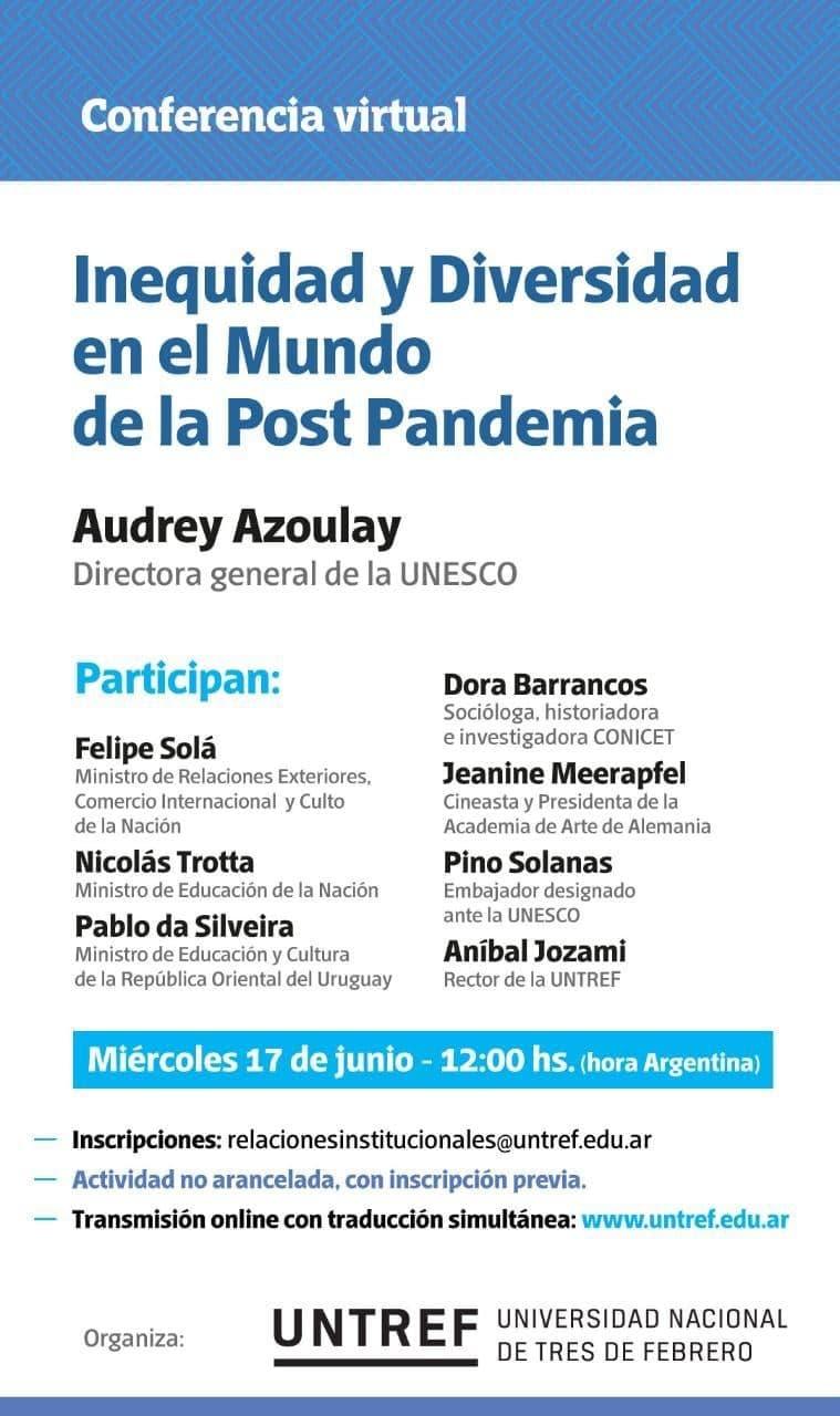 Inequidad y diversidad en el mundo post-pandemia