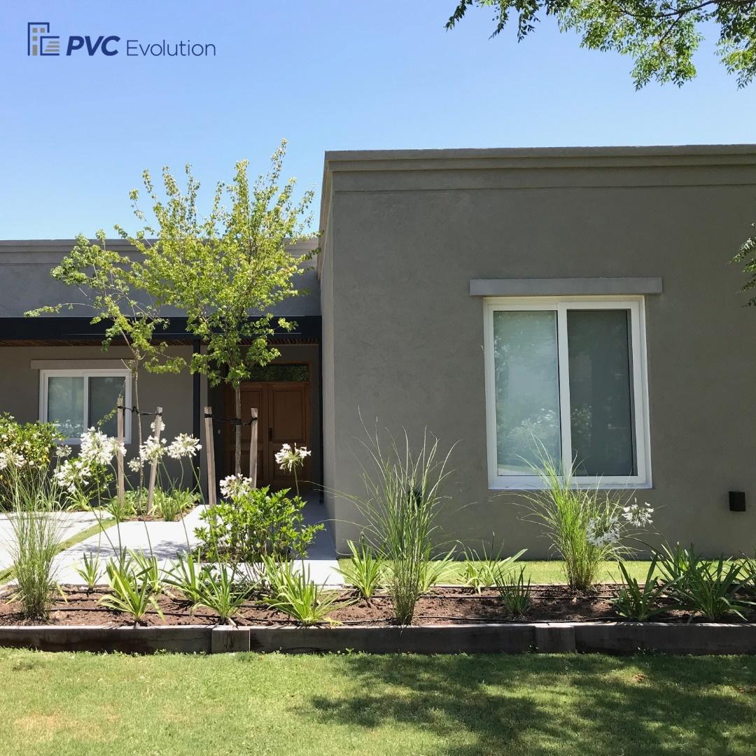 Las aberturas de PVC marcan tendencia en las casas unifamiliares