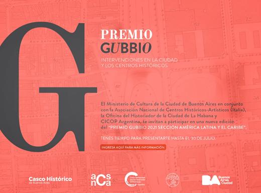 Convocatoria Premio Gubbio Sección América Latina y Caribe